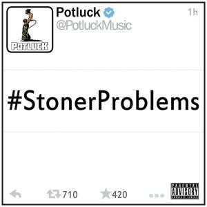 Potluck_StonerProblems_Cover
