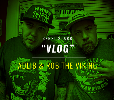 Adlib x Rob The Viking Video Blog #1