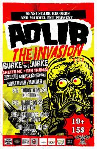 The Invasion - Adlib