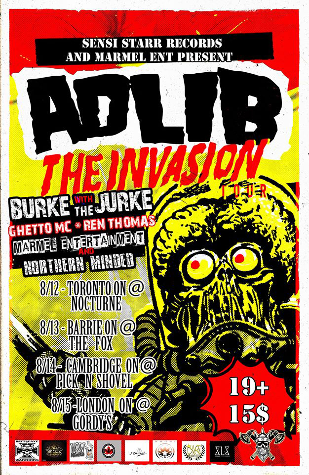The Invasion - Adlib