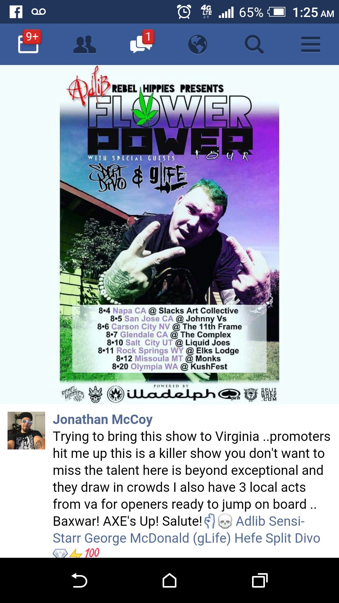 Flower Power - Adlib