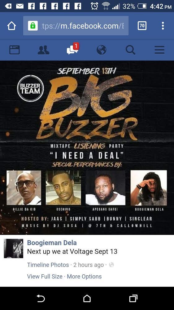 Big Buzzer - Boogieman Dela