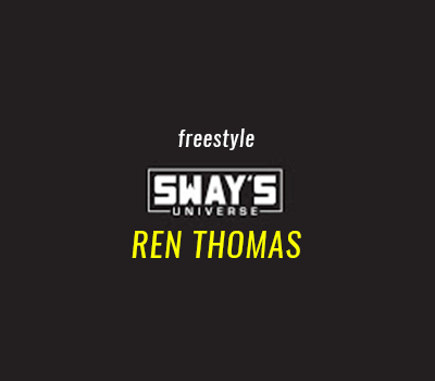Friday Fire Cypher: Ren Thomas Freestyle and Interview on Sway in the Morning